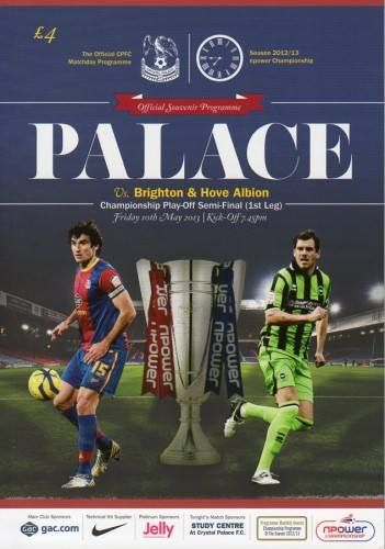 Brighton & Hove Albion - Play-Off Semi-Final 1st Leg