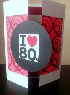 Invitación temática Años 80 http://www.facebook.com/crpentinas