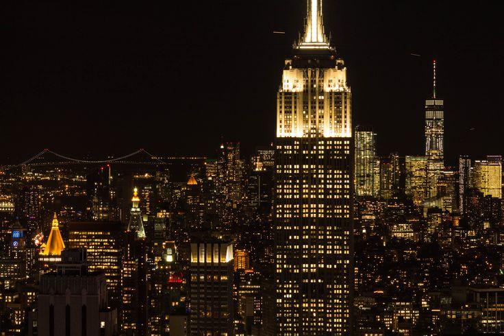 https://flic.kr/p/Yq4j65   Empire State Buildung at Night, New York, NY