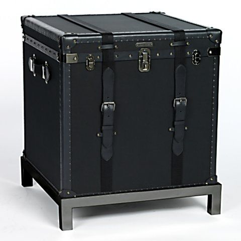 Perfect Ralph Lauren Home Collection: Black Trunk Occasional Table