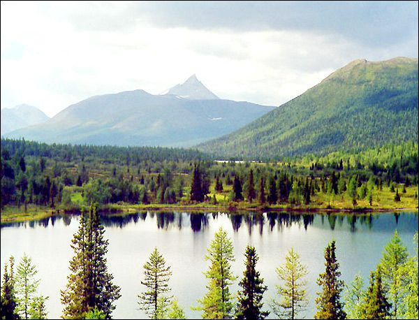 Komi republic landscape