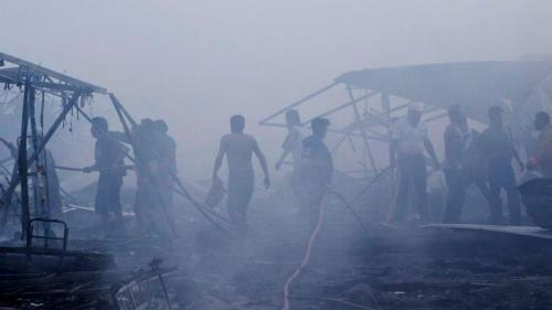 Cronaca: #06:05   #Esplosioni in mercato fuochi artificio Messico almeno 29 morti (link: http://ift.tt/2hRQv4z )