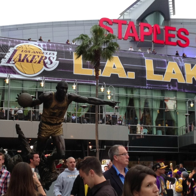 Lakers game tonight.