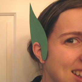 St Patrick's Day / Costume Tutorial / Leprechauns ears