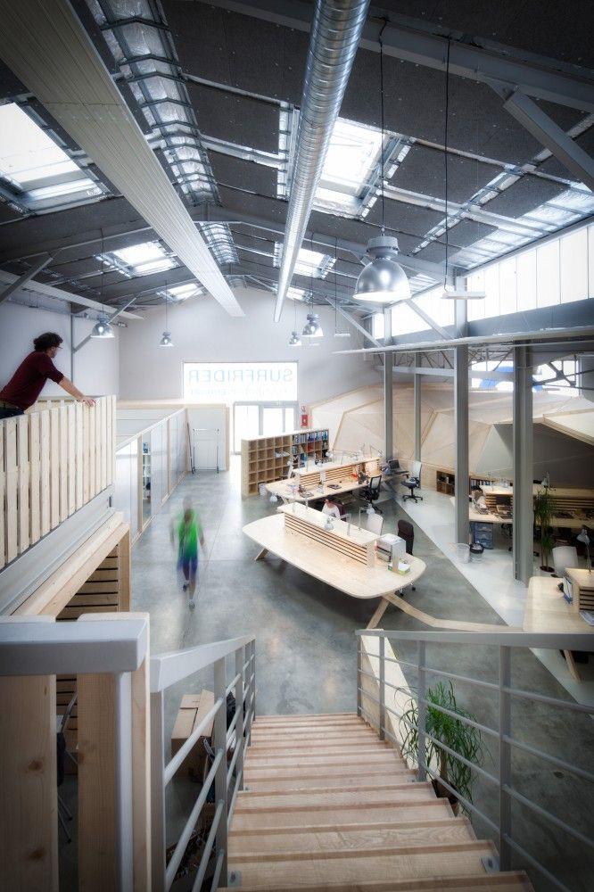 Gallery of Surfrider Foundation / Gardera-D Architecture - 7. Architecture  DesignFactory ArchitectureInterior ...