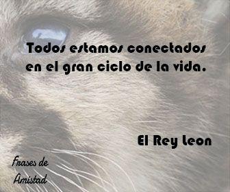 Frases de disney de El Rey Leon