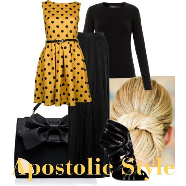 Apostolic Style by emmyholloway on Polyvore featuring Weekend Max Mara, Alice + Olivia, Dolce&Gabbana and Forever New