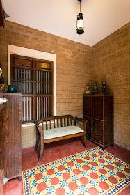 I love the Athangudi tiles..