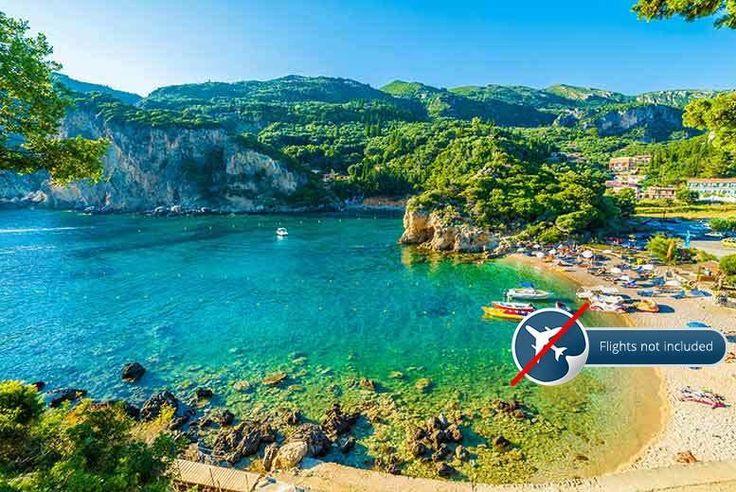 Get Discount Holidays 2017 - 5nt Corfu Break, Paxos Day Trip, Breakfast & Transfers for just: £159.00 5nt Corfu Break, Paxos Day Trip, Breakfast & Transfers BUY NOW for just £159.00