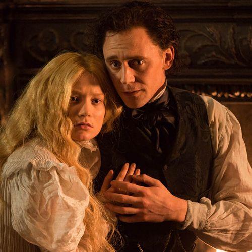 Tom Hiddleston and Mia Wasikowska in Crimson Peak. Full size image: https://i.imgbox.com/IwWAb4de.jpg Photoset: http://maryxglz.tumblr.com/post/153701471502/crimson-peak-via-torrilla-lolawashere #SharpeSaturday