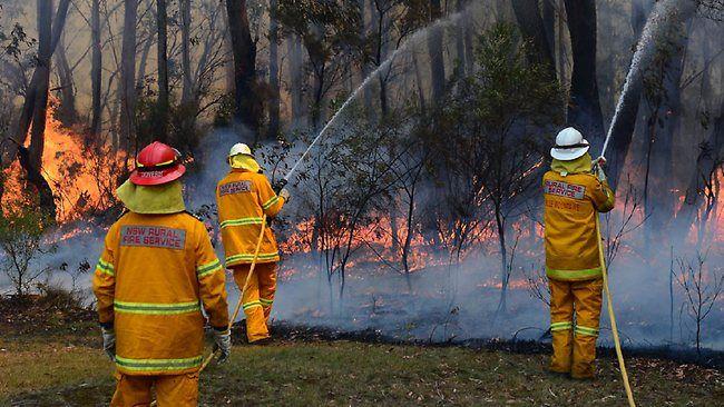 NSW Australia Spring 2013 bushfires