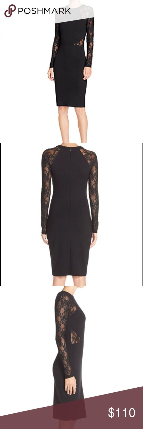 Long black dress size 8 football