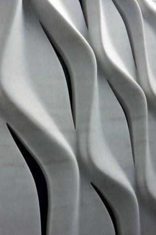 Zaha Hadid for CITCO | Swirl wall feature
