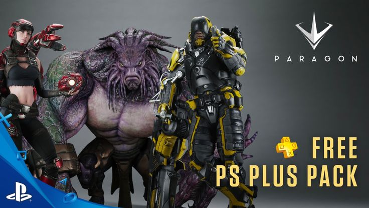 Paragon - PS Plus: Free for July 2016 Trailer | PS4