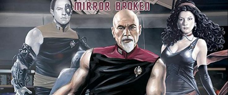 You MUST See the Cover of IDW's TNG: Mirror Broken   Circle the date: May 6 2017. That'll be Free Comic Book Day and IDW Publishing will offer up Star Trek: The Next Generation -- Mirror Broken as one of the 50 comics available. Have you seen the cover? We're talking Picard all buff and goateed in a sleeveless shirt Data getting his Borg on and Troi clad in stretchy black. We're in. And for free? We're really in.  Here's the synopsis of Mirror Broken which is written by Scott Tipton and…