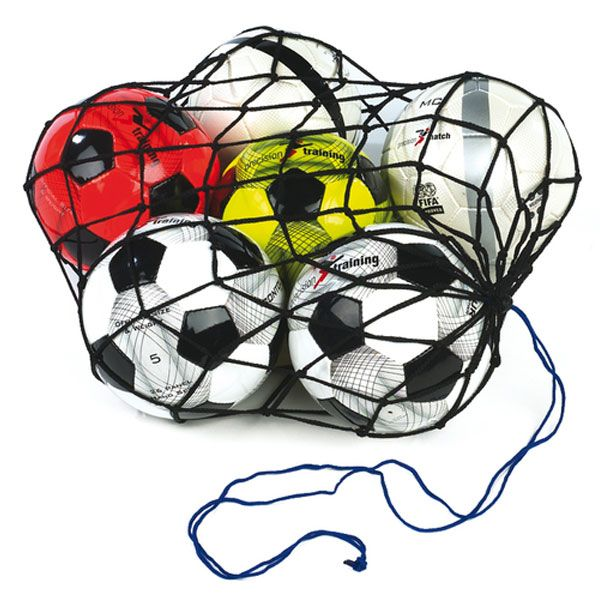 Anyone who organises football training will know the importance of a good football carry net. Well this one is the one which does the job as it carries 12 footballs, and is made to last..