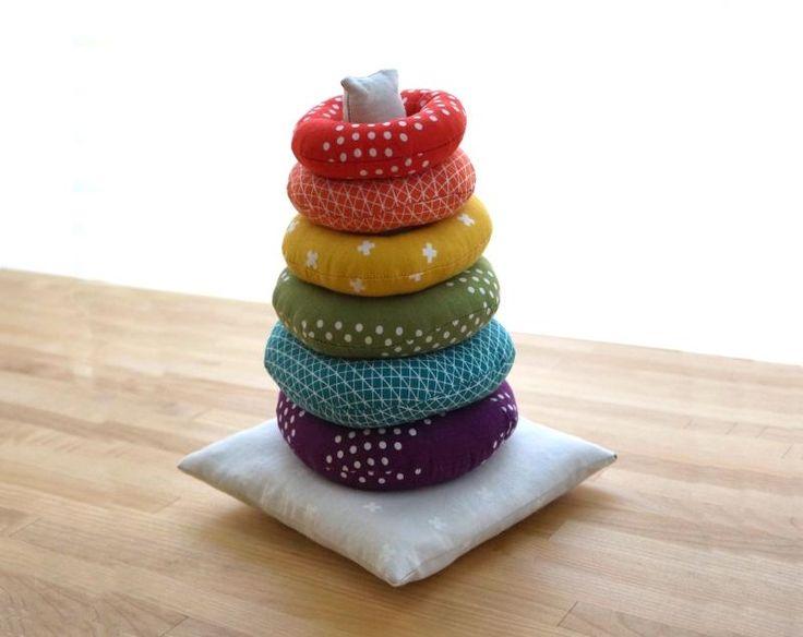 DIY Children's : DIY Stacking Ring Toy
