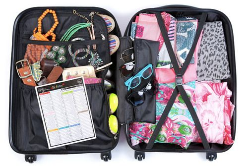 Brilliant Packing Tips From a Travel Pro @erincondren.com // I need one of h er fab suitcases, btw