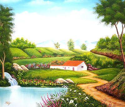 193 best images about paisajes de casas de campo on - Paisajes de casas de campo ...
