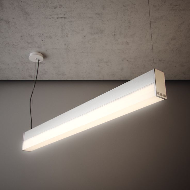 Straight t led sus is a suspended bright sided luminaire and can illuminate the ceiling in addition to providing functional downward illumination