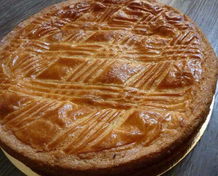 Gâteau basque à la crème pâtissière avec thermomix