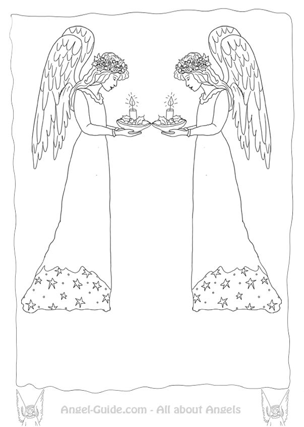 coloring pages of easter candles - photo#25