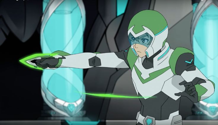 Pidge And Her Green Bayard Weapon From Voltron Legendary