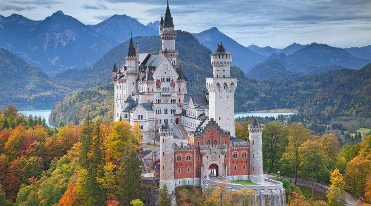 Замки Германии: замок Нойшванштайн | GERMANIA.ONE