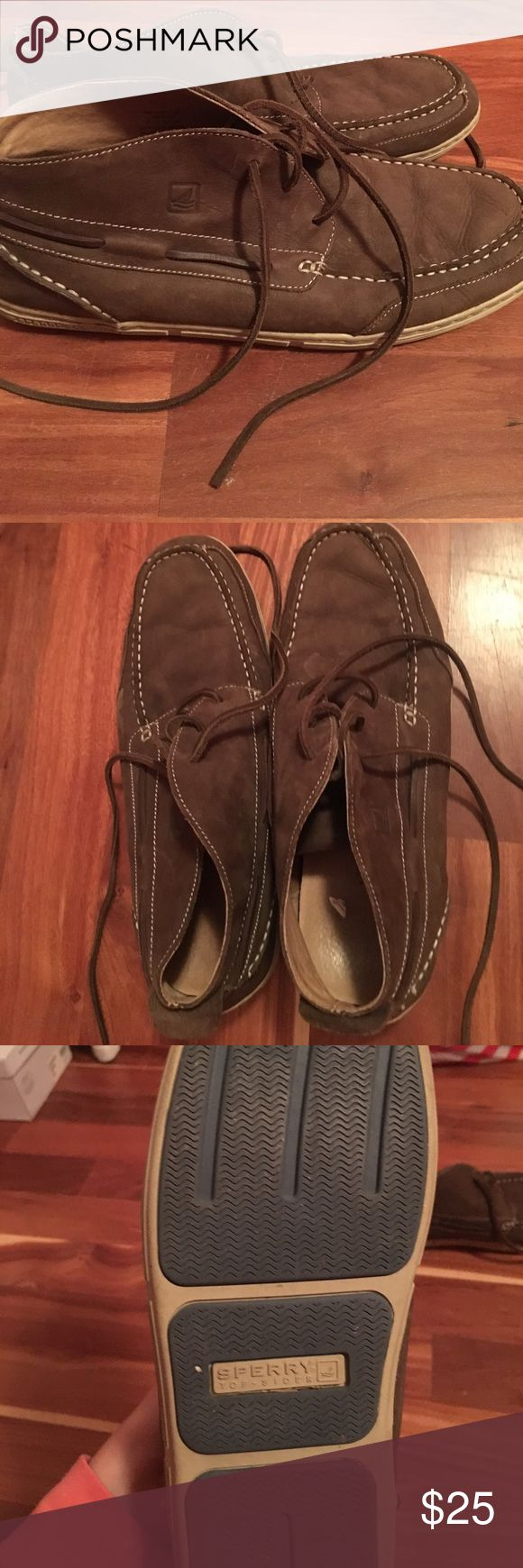 Mens Sperry Leather Shoes Barely worn, a great show for men! Sperry Top-Sider Shoes Boat Shoes