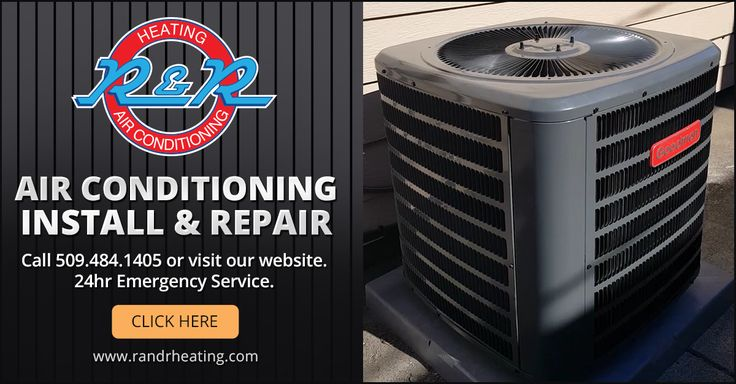 Air Conditioning Repair & Install in Spokane, WA. Call R&R Heating & Air Conditioning at 509.484.1405.