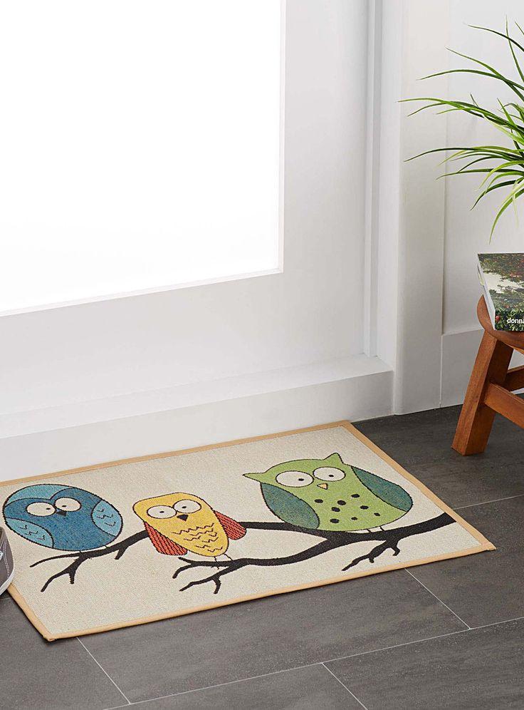 Owl tapestry rug 48 x 69 cm | Simons Maison | Patterned carpets online | Simons