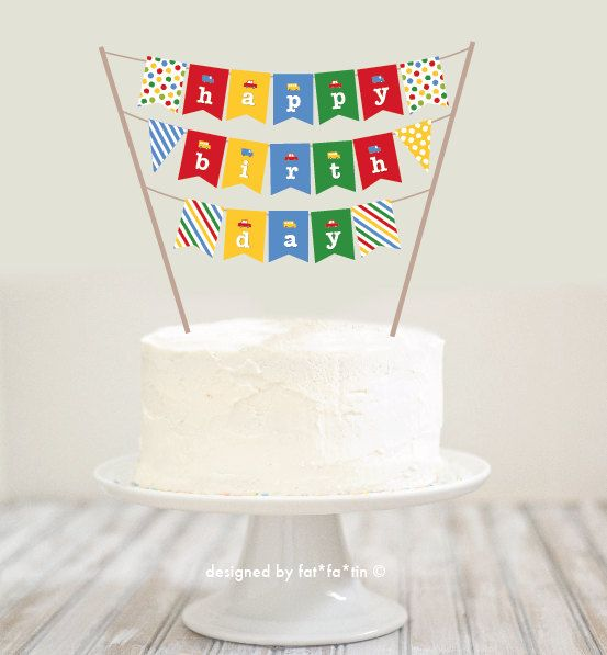 Mini Birthday Cake Bunting Image Inspiration of Cake and