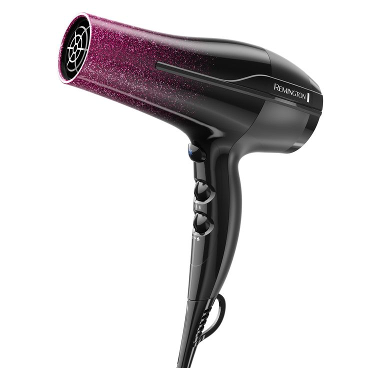 Remington Ionic AC Prof Hair Dryer, Silver