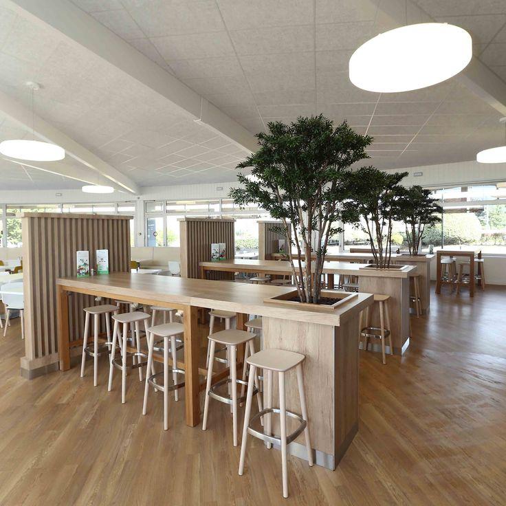 structure bois - mobilier restaurant - restauration d'entreprise
