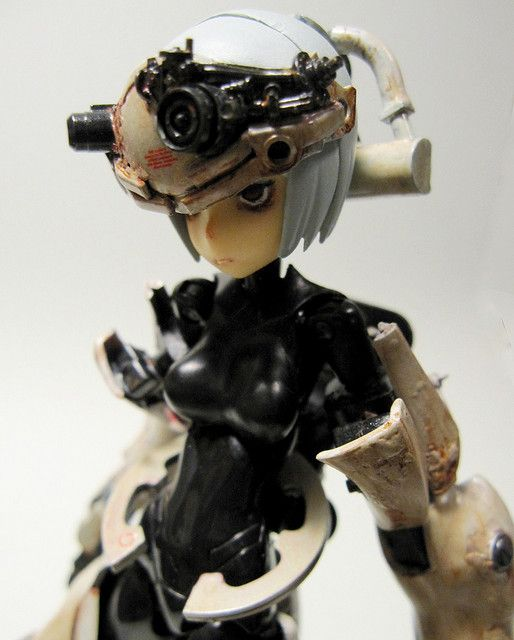 Stress_05 by state_steven    Via Flickr: (MMS-type Knight of Chess) Busou Shinki  More robots here.