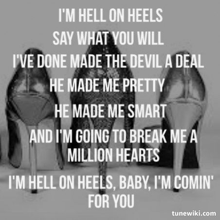 Hell on Heels ~ Pistol Annies