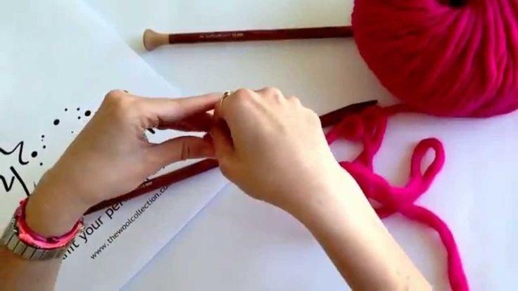 Cómo calcular la lana para echar puntos #TheWoolCollection #DIY #calcularlana #knitting