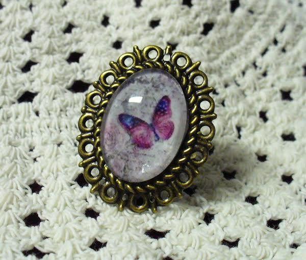 Pillangós gyűrű * Ring butterfly