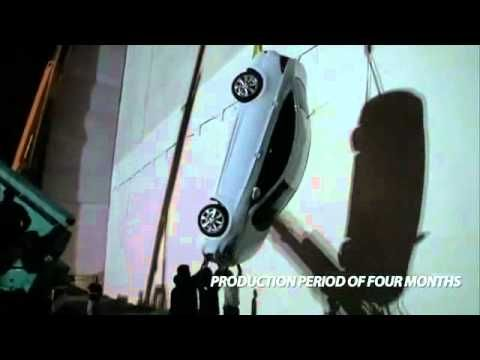 Hyundai Accent 3D projection mapping_making of - YouTube