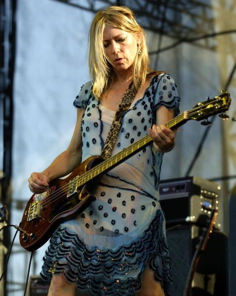 "KIM GORDON ""That's Not My Age ~ Age: a state of mind""  (Sunday, 10 February 2013) ""Let's hear it for Sonic Youth bass player/artist/producer Kim Gordon, who according to Opening Ceremony's Facebook page was 'killing it' at CHLOE SEVIGNY'S New York Fashion Week presentation, yesterday."""