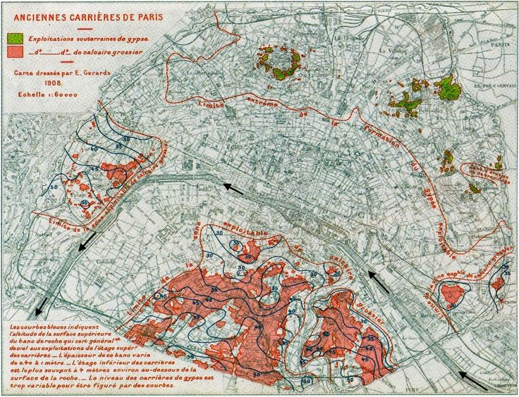 Written In Stone...seen through my lens: Geological Legacies of the Paris Basin: Part II – Subterranean Limestone Quarries and Catacombs of Paris