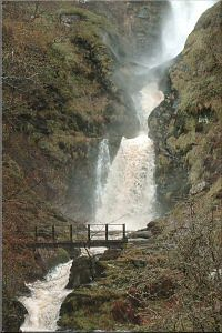 Pistyll Rhaeadr. The longest waterfall in the UK