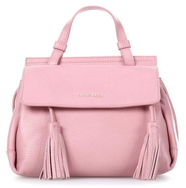 wardow.com - #Coccinelle Jessie S Henkeltasche Leder pink 23 cm #bag #