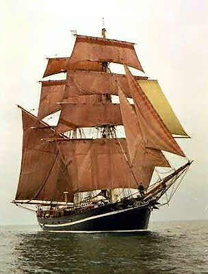 The Mary Celeste (AKA Marie Celeste) was found still on course in the Atlantic in 1872 absent of her entire crew. The crew was never found.