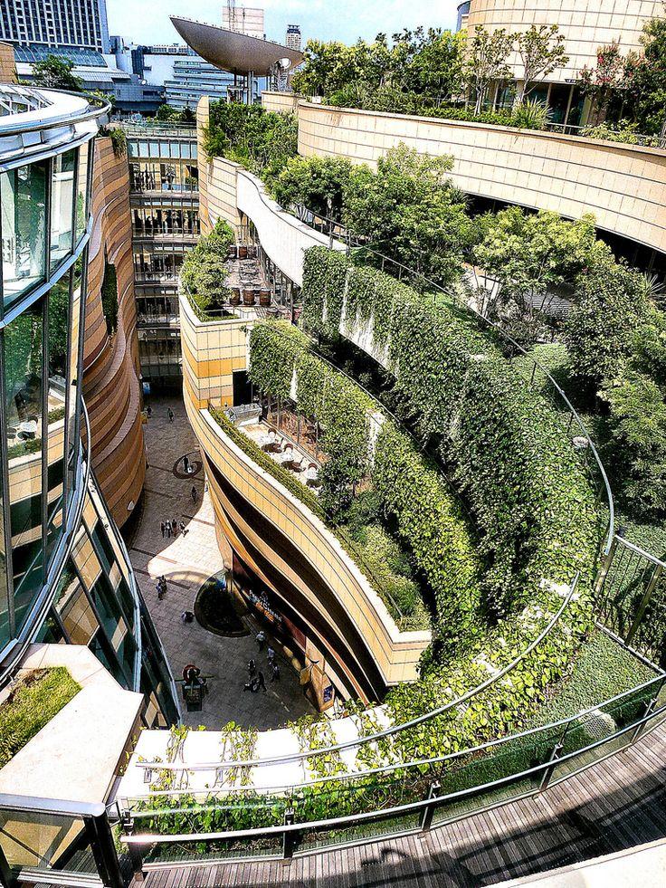 Urban Roof Garden Architecture