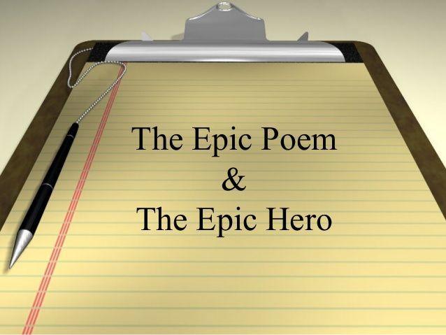 Epic hero powerpoint