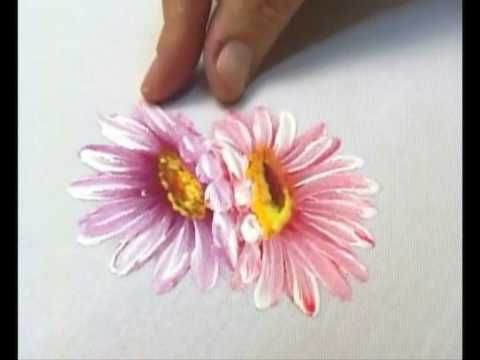 Pintando Flores com Bia Moreira 1 | Cantinho do Video                                                                                                                                                                                 Mais