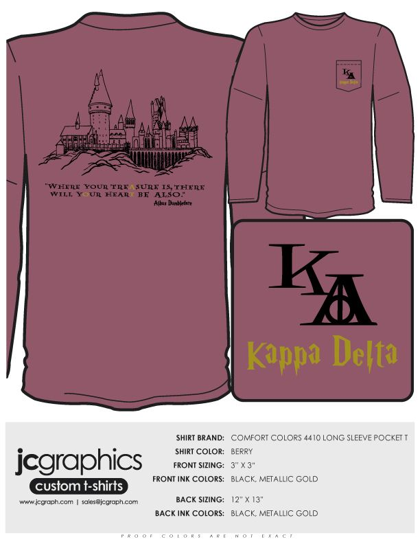 Harry Potter & Kappa Delta, 2 of my favorite things :) I love it!!! Thanks for sending this to me, @Kayla Lay!