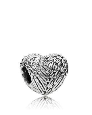 PANDORA Charm - Sterling Silver Angelic Feathers, Moments Collection | Bloomingdale's