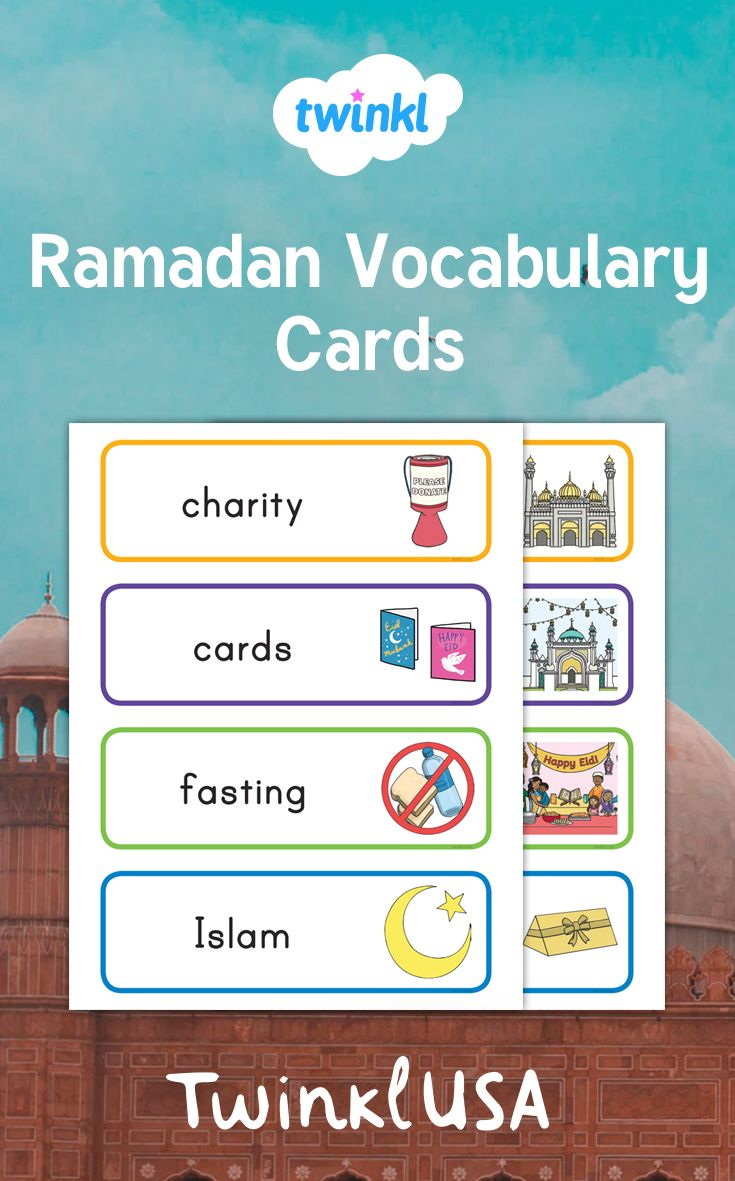 Use This Set Of Colorful Word Cards To Introduce The Holiday Of